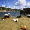 Gorran Haven harbour and beach, Cornwall