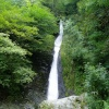 The White Lady Waterfall at Lydford Gorge, Devon.