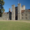 Knole House, Sevenoaks, Kent. Detail of West Front