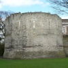 Multangular Tower in museum gardens, York.
