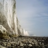 Low tide at Seven Sisters, West Sussex.