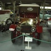 Exhibits on show in the Bentley Motor Museum, near Lewes, East Sussex