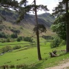 Grisdale from the path to the Hole in the Wall, Birkhouse Moor, Patterdale, Cumbria