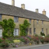 Row of Cottages in Bourton-on-the-Hill, nr Moreton-in-Marsh, Gloucestershire