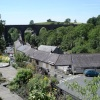 A picture of Ingleton Village, North Yorkshire.