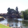 This is Evesham back in july on a summer day