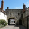 Canon Gate leads to South Street, Chichester