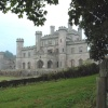 Lowther Castle with Norman Lowther from Manassas, VA - a direct descendant of Sir Richard Lowther.
