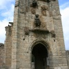 The Lions Tower, Warkworth Castle, Warkworth      Northumberland