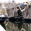Charlestown. Cornwall April 2004 -