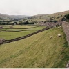 A View of Swaldale looking west towards Gunnerside, North Yorkshire