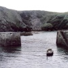 Mullion Cove. Not far from Lizard Point. Cornwall 1997