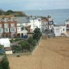 Broadstairs harbour area. Broadstairs, Kent