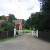 The entrance to Hedingham Castle, Castle Hedingham, Essex