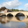 Telford's bridge across the River Severn in Bewdley