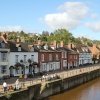 Riverside view in Bewdley, Worcestershire