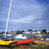 Boats at Mudeford Quay, 1985