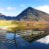 Crummock Water, Lake District, Cumbria.