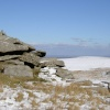 Snow on Roughtor, Bodmin Moor, Cornwall