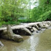 Tarr Steps, Dulverton, Somerset, dating from 1000 BC