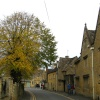 Honey coloured houses, Bourton-on-the-Water, in the Cotswolds.