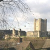 Conisbrough Castle, 5 miles west of Doncaster