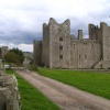 Bolton Castle in Castle Bolton, North Yorkshire. Mary Queen of Scots was once held prisoner here.