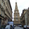 Halifax Town Hall from Princess St, designed by Sir Charles Barry in 1859