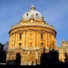 Oxford's famous Radcliffe Camera seen early on January 14th 2007