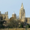 Oxford Christchurch College Cathedral & Tom Tower.