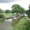 Marple Marina, Junction of the Macclesfield and Peak Forrest Canals, Marple, Greater Manchester.