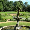 View of Bridge End Gardens, Saffron Walden, Essex.