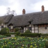 Anne Hathaway's cottage, just outside Stratford-upon-Avon.