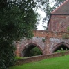 bridge at Hedingham Castle, Essex