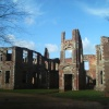 A picture of the remains of Houghton house, Ampthill, Bedfordshire