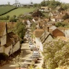 The picturesque village of Kersey in Suffolk