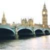 Westminster Bridge and the Palace of Westminster, London