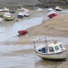 Bude at low tide, Cornwall