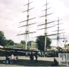 The 'Cutty Sark' at Greenwich, London