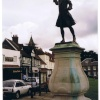 Statue of Gen.Wolfe of Quebec, Westerham, Kent