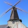 West Blatchington Windmill, east Sussex, sits in the middle of a housing estate in Hove.