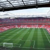 The Emirates Stadium. Home to Arsenal Football Club. North London.