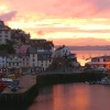 Early evening at Brixham harbour in Devon