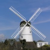 Westdene windmill, Brighton, East Sussex, is privately owned.