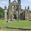 Kirkstall Abbey near Leeds, West Yorkshire