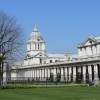 A view of The Royal Naval College from the gounds of The Queens's House, Greenwich.