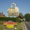 Holbeach, Lincolnshire. Winner of Britain in Bloom Sign