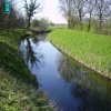 River Idle travels around the edge of the village of Gamston, Nottinghamshire. -