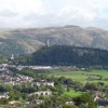 view to Abbey Craig & Wallace Monument, Stirling, Scotland