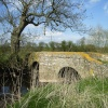 Sandham Bridge over Rothley Brook at Thurcaston, Leicestershire, c.16th century pack horse bridge